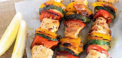 Mind For Body - Chicken And Veg Skewers