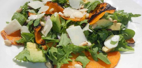 Mind For Body - Roasted Pumkin Salad