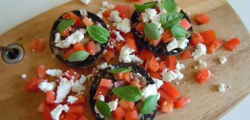 Mind-For-Body-Bruschetta-Baked-Mushrooms